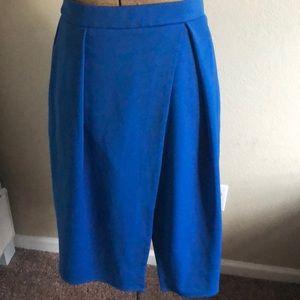 Asos skirt blue size 6